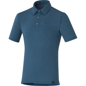 Shimano Transit Polo Shirt Men navy